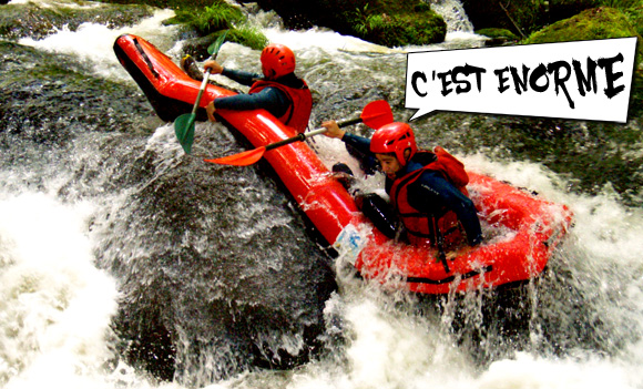 Hot dog - rafting - sorties - activités - animations - sport extreme - club energie - orléans