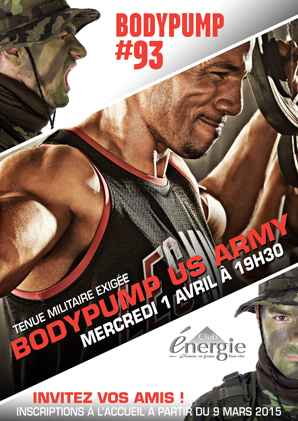 lancements lesmills bodypump us army club energie fitness orleans body pump