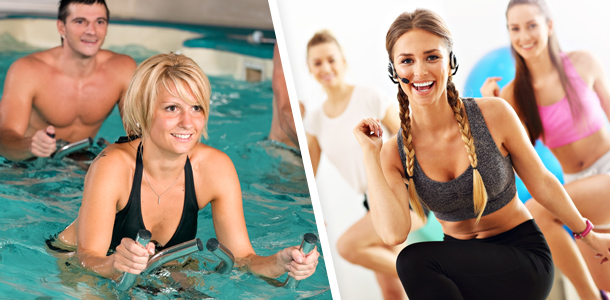 cours collectifs aqua fitness club energie orleans