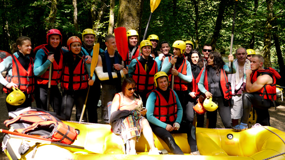 team rafting - hot dog - sport extreme - morvan - orléans - club energie