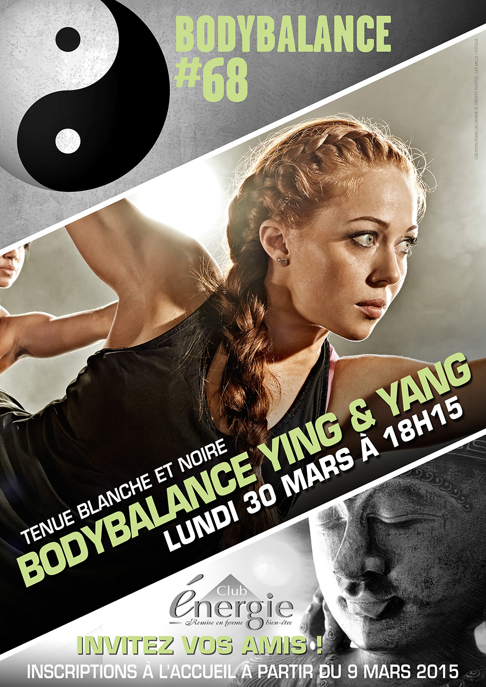 Lancement LesMills BODYBALANCE 68 Ying & Yang Club Energie Fitness Orleans