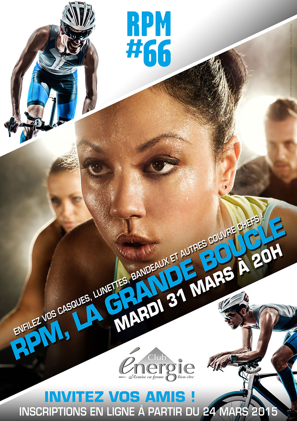 lancements lesmills rpm tour de france la grande boucle club energie fitness orleans biking