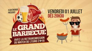 Gourmandise et convivialité au Grand Barbecue du Club