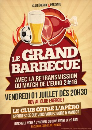 Les Grand Barbecue du Club Energie Orléans