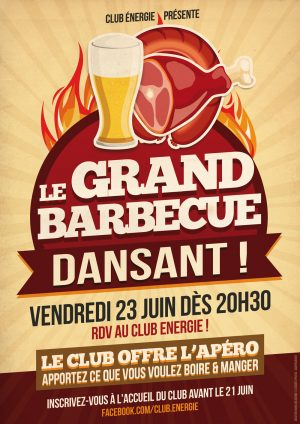 Le Grand Barbecue Dansant du Club Energie Orléans
